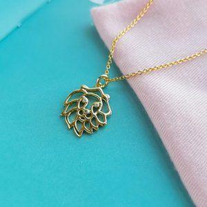 Celestial Charm Leo Pendant Necklace + dust bag